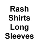 Sun Protection Rash Shirts Long Sleeved