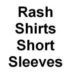 Sun Protection Rash Shirts Short Sleeved