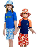 Sun Protection Kids Hawaii Board Shorts