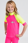 Sun Protection Kids Rash Shirt Short Sleeved