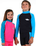 Sun Protection Kids Rash Shirt Long Sleeved
