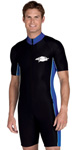 Sun Protection Mens Raysuit Short Sleeved