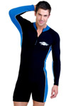 Sun Protection Mens Raysuit Long Sleeved