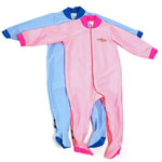 Sun Protection Baby Sunsuit with covered feet