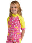 Sun Protection Kids Hawaii Rash Shirt
