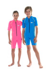Sun Protection Kids Sunsuit Short Sleeved