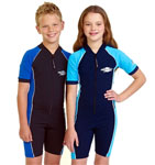 Sun Protection Sunsuit Short Sleeved