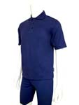 Sun Protection Mens Short Sleeved Polo Shirt