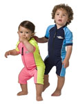 Sun Protection Toddler Sunsuit Short Sleeved
