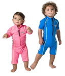 Sun Protection Toddler Sunsuit Short Sleeved - Sports Style