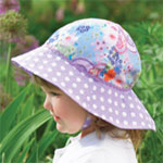 Sun Protection Toddler Girl Sun Hat