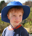 Sun Protection Childs Sun Hat (wide brim - 65mm)