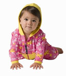 Sun Protection Baby/Toddler Girl Jacket/Leggings