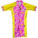 Sun Protection Toddler Hawaii Sunsuit Short Sleeved